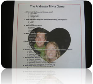 the Andressa trivia game